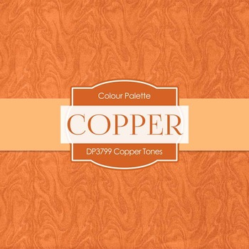 Digital Papers - Copper Tones (DP3799)