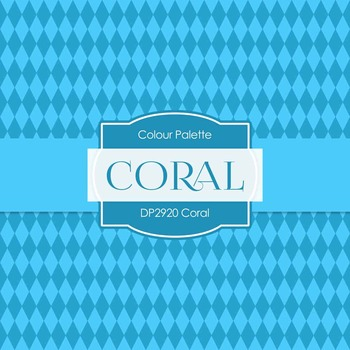 Digital Papers - Coral (DP2920)