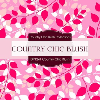Digital Papers - Country Chic Blush (DP1241)