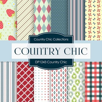 Digital Papers - Country Chic (DP1243)