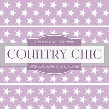 Digital Papers - Country Chic Lavander (DP2138)