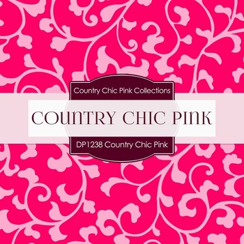 Digital Papers - Country Chic Pink (DP1238)