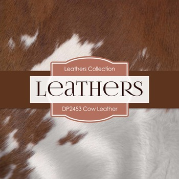 Digital Papers - Cow Leather (DP2453)