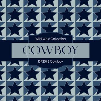 Digital Papers - Cowboy (DP2596)
