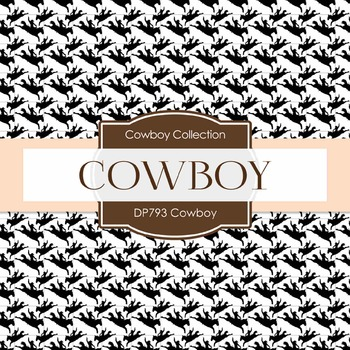 Digital Papers - Cowboy  (DP793)