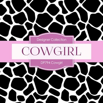 Digital Papers - Cowgirl (DP794)