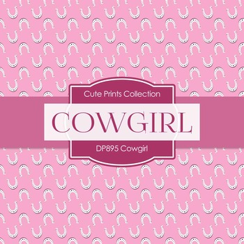 Digital Papers - Cowgirl (DP895)