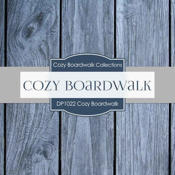 Digital Papers - Cozy Boardwalk (DP1022)