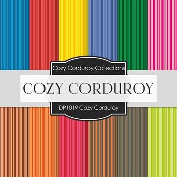 Digital Papers - Cozy Corduroy (DP1019)