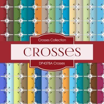 Digital Papers - Crosses (DP4378A)