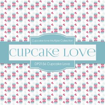 Digital Papers - Cupcake Love (DP2156)