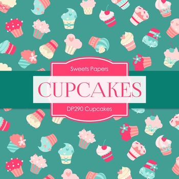 Digital Papers - Cupcakes (DP290)
