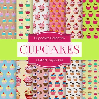 Digital Papers - Cupcakes (DP4253)