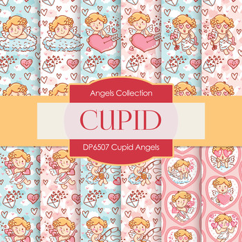 Digital Papers - Cupid Angels (DP6507)
