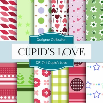 Digital Papers - Cupid's Love (DP1741)