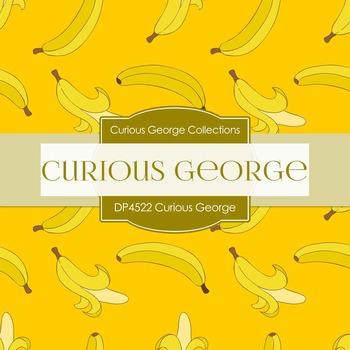 Digital Papers - Curious George (DP4522)