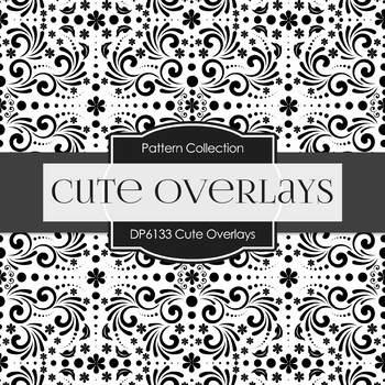 Digital Papers - Cute Overlays (DP6133)
