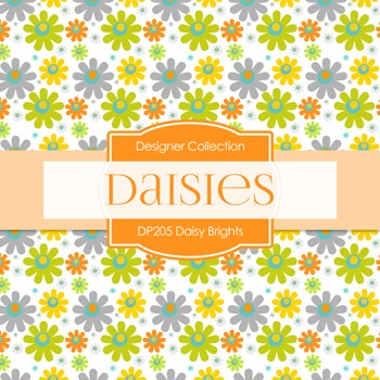 Digital Papers - Daisy Brights (DP205)