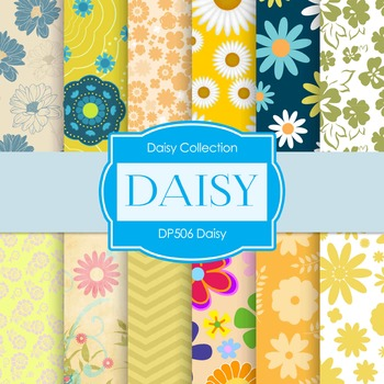 Digital Papers -  Daisy (DP506)