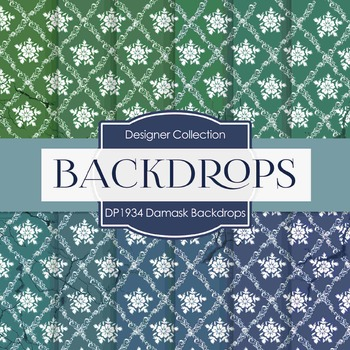 Digital Papers - Damask Backdrops  (DP1934)