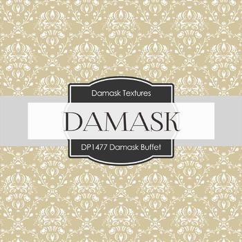 Digital Papers -  Damask Buffet  (DP1477)