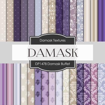 Digital Papers - Damask Buffet (DP1478)