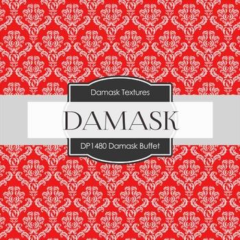 Digital Papers - Damask Buffet (DP1480)