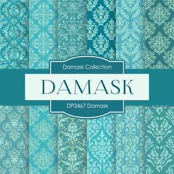 Digital Papers - Damask (DP2467)