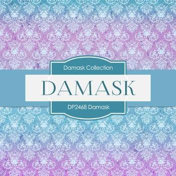 Digital Papers - Damask (DP2468)