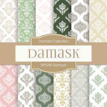 Digital Papers - Damask (DP3782)
