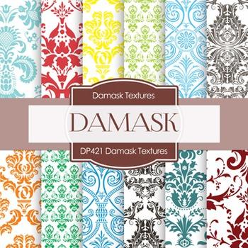 Digital Papers - Damask (DP421)