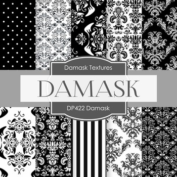 Digital Papers - Damask (DP422)