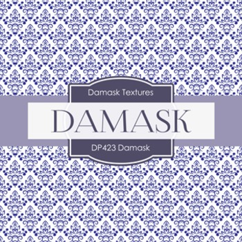 Digital Papers - Damask (DP423)