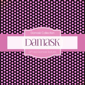Digital Papers -  Damask Textures (DP1463)
