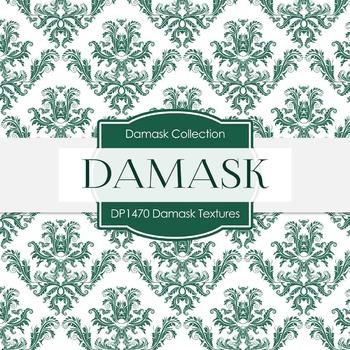 Digital Papers - Damask Textures (DP1470)