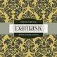 Digital Papers -  Damask Textures (DP576)