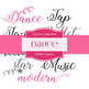 Digital Papers - Dance (DW041)