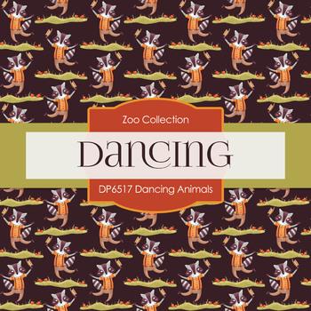 Digital Papers - Dancing Animals (DP6517)