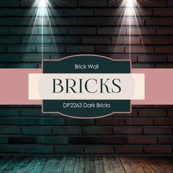 Digital Papers - Dark Bricks (DP2263)