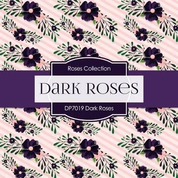 Digital Papers - Dark Roses (DP70419)
