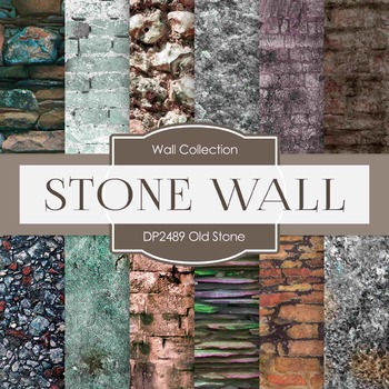 Digital Papers - Dark Stone (DP2489)