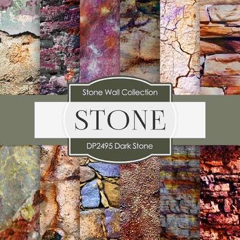Digital Papers - Dark Stone (DP2495)