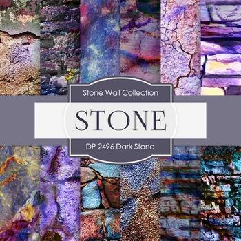 Digital Papers - Dark Stone (DP2496)