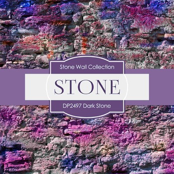 Digital Papers - Dark Stone (DP2497)