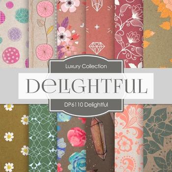 Digital Papers - Delightful (DP6110)