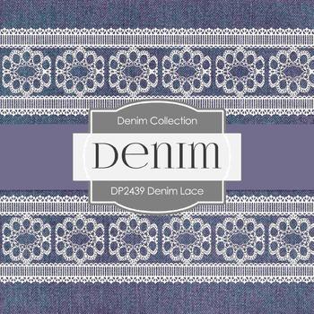 Digital Papers - Denim Lace (DP2439)
