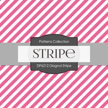 Digital Papers - Diagonal Stripe (DP6212)