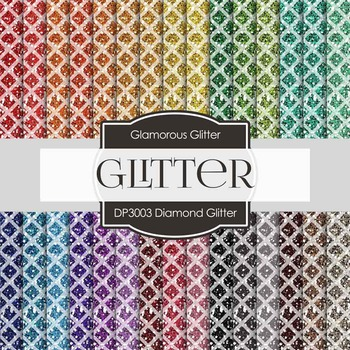 Digital Papers - Diamond Glitter (DP3003)