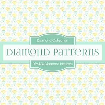 Digital Papers - Diamond Patterns (DP6166)