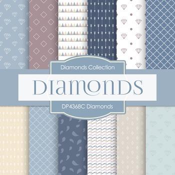 Digital Papers - Diamonds (DP4368C)